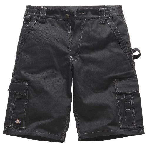 Dickies Industry 300 Herren Arbeitsshorts / Shorts (W40) (Schwarz / Schwarz) (Dickies-print-shorts)
