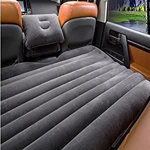 BK 10 IMPORT & EXPORT Relaxing Back seat Car Inflatable Bed (Universal for Car)
