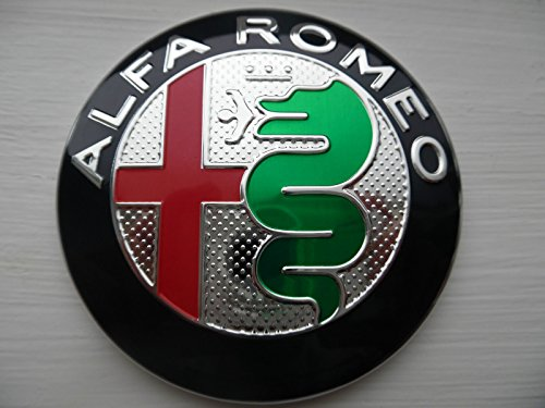 FRONT HOOD OR REAR BOOT EMBLEM MITO GIULIETTA BRERA 147 159 GT BADGE logo new STLYE