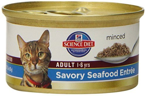 hills-science-diet-adult-optimal-care-savory-seafood-entree-minced-cat-food-3-ounce-can-24-pack-by-h