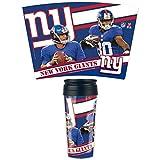 WinCraft New York Giants Signatures Football NFL Reisebecher