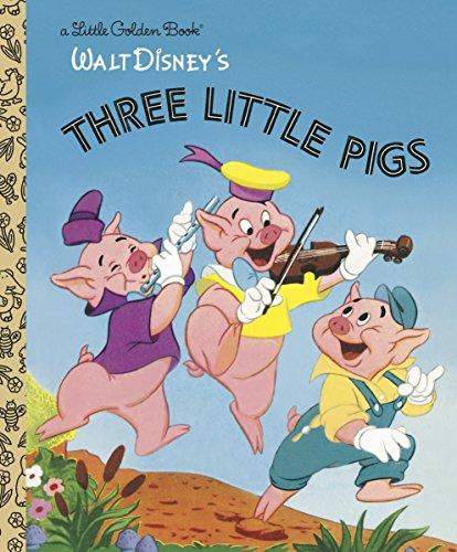 The Three Little Pigs (Disney Classic) (Little Golden Books) por Random House Disney