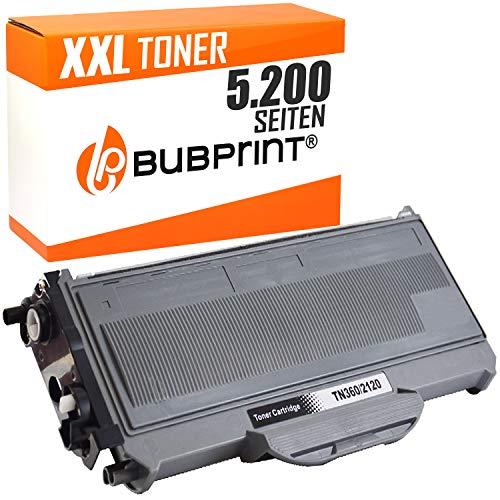 Bubprint TONER NERO compatibile per BROTHER TN-2120 HC (5.200s) O DCP-7030,DCP-7040,DCP-7045 N,HL-2140,HL-2150 N,HL 2170 W,MFC-7320,MFC-7440 N,MFC-7840 W.BROTHER N HL-2140,HL-2150 N,W,MFC-7320 W