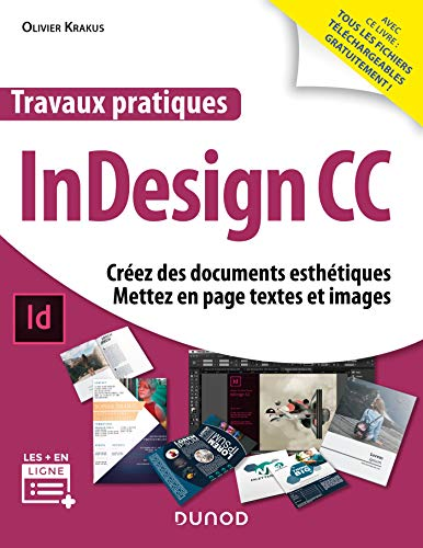 Travaux pratiques InDesign (French Edition)