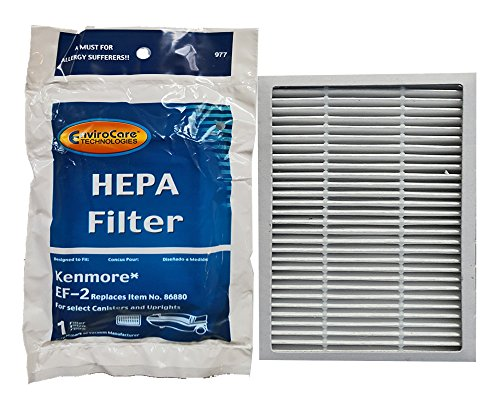 Kenmore HEPA Filter für Kanister Kenmore Teil # 86880