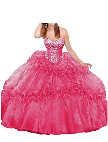Promgirl House - Robe - Boule - Femme rose bonbon