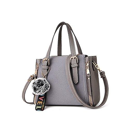 GUANGMING77 _ Borsetta Tracolla Lady Inverno,Wei Qing Nero Borsa Wei Qing bag grey