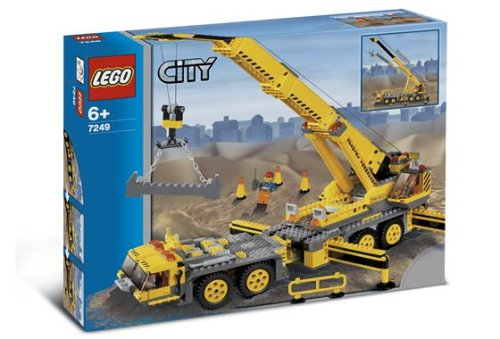 Preisvergleich Produktbild Lego City 7249 - Mobiler Baukran