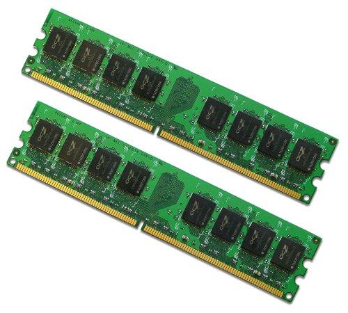 OCZ Value DDR2 PC2-5400 Arbeitsspeicher 2GB 667MHz CL5 -