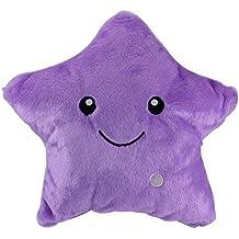 Luz Almohada Forma de Estrella Muñecas Decoración Noche Pillow