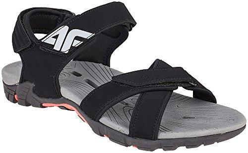 4F Trekking Sandali Uomo Chiusura in Velcro outdoo rsan dalen sandali sport & outdoor sam002ss17() nero