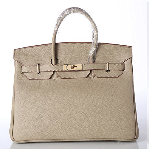 Chlln Handtaschen Aus Leder Und Lederwaren Schicht Rampenlicht gray