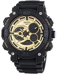 Nautec No Limit Herren-Armbanduhr XL Buffalo AD Analog Quarz BU QZ-AD/PCBKPCBKGD-BK
