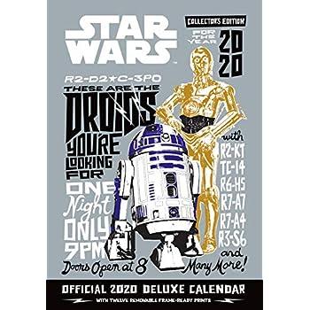 Star Wars Classic Deluxe 2020 Calendar - Official A3 Wall Format Calendar
