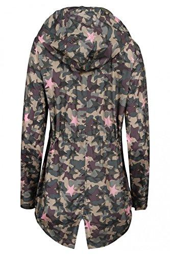 Tokyo Laundry - Manteau imperméable - Parka - Femme Star Camo