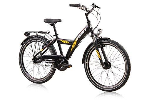 tretwerk DIREKT gute Räder City Rider 24 Zoll ATB Jungen, Jugend-Fahrrad 7-Gang Nabenschaltung