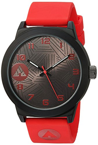 airwalk-automatic-metal-and-silicone-casual-watch-colorred-model-aww-5100-re