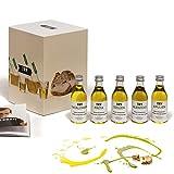 Olivenöl Set Geschenkset 5x50ml I Natives Olivenöl probieren I Bekannt aus Höhle der Löwen I Hochwertige Geschenke F