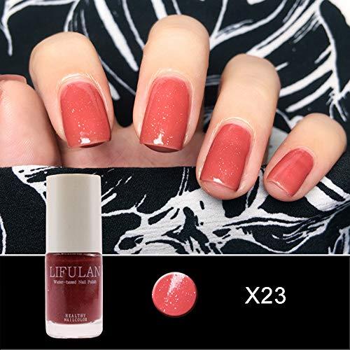 Quaan 20 Farbe Gel Nagel Polieren Nagel Kunst Nagel Gel Polieren UV LED Gel Wasser Basierend Nagel...