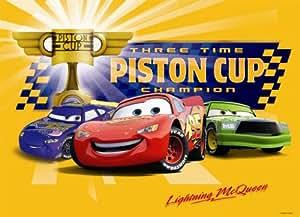 Nathan - 86497 - Puzzle - Piston Cup Cars - 45 Pièces