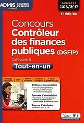 Concours Contrôleur des finances publiques (DGFIP) - Tout-en-un - Catégorie B - Concours 2016-2017