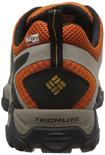 Columbia Peakfreak Xcrsn Xcel Outdry, Chaussures de Running Compétition Homme Multicolore - Multicolor (Desert Sun/Squash)