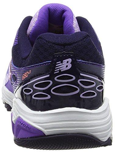 New Balance Kr680pvy M, Sneakers Basses Mixte Enfant Violet (Purple)