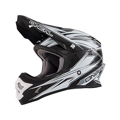0603H-405 - Oneal 3 Series Hurricane Motocross Helmet XL Black/White