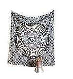 Uesae 1pic Décoration de Chambre Tapisserie Murale ou Drap de Plage Mandala Serviette de Plage Size 150*150CM