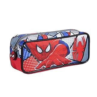 Spiderman- Estuche portatodo Rectangular (Artesanía Cerdá 2100001882)