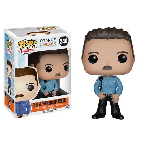 Orange is the New Black George Pornstache Mendez Pop Vinyl Figure by Orange is the New Black