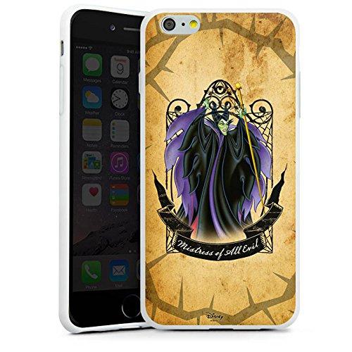 Apple iPhone X Silikon Hülle Case Schutzhülle Disney Dornröschen Merchandise Geschenke Silikon Case weiß