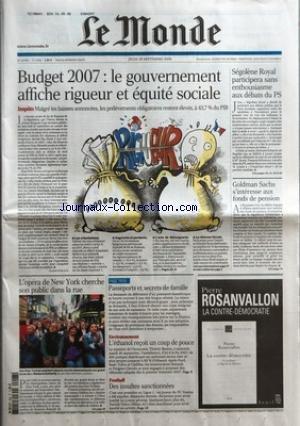 monde-le-no-19183-du-28-09-2006-budget-2007-le-gouvernement-affiche-rigueur-et-equite-sociale-par-cl