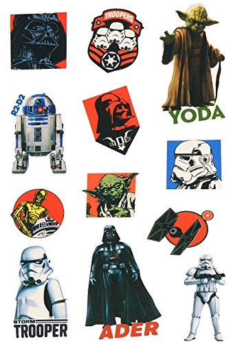 Trooper Storm Aus Star Wars (12 tlg. Set: Haut Tattoo -