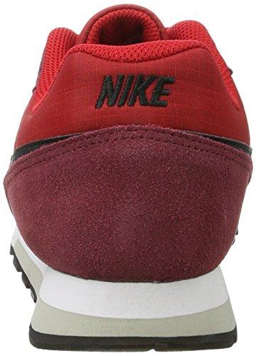 Nike Men's Nike Md Runner 2 Shoe, Scarpe Sportive Indoor Uomo Multicolore (University Red/black-team Red-pale Grey)