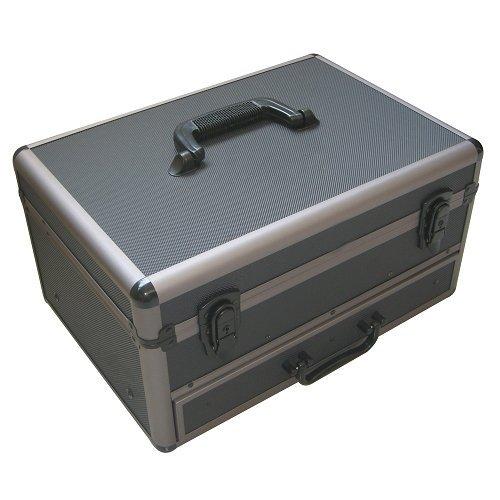 kravm 30133Baúl de aluminio con cajón