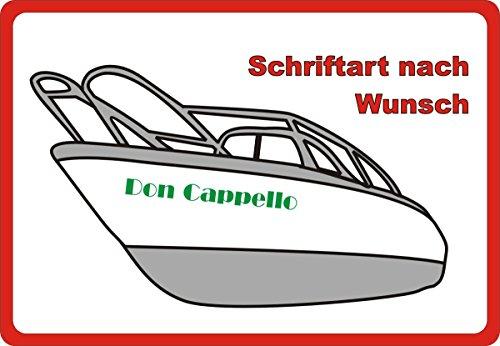 Bootsname Beschriftung Wunschtext Logo Werbung für Boot Sportboot Schlauchboot 80 cm 80 cm 80 cm Grün Grün Grün