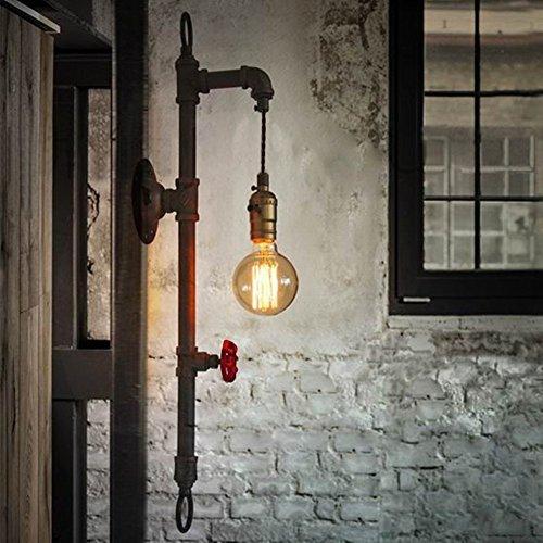 Lámpara de pared de tubo de agua