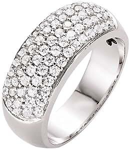 Spirit - New York Damen-Ring Silber rhodiniert Zirkonia weiß Gr.58 (18.5) 93002993580