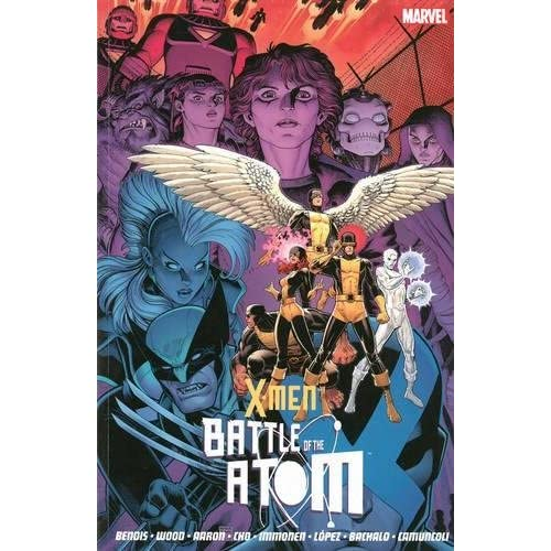 Battle of the Atom by Jason Aaron, Brian Wood (illustrator) Brian Michael Bendis(2014-02-13)