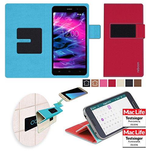 Hülle für Medion Life X5020 Tasche Cover Case Bumper | Rot | Testsieger