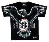 Mi Barrio Art Adler WALDSTADION Herren T-Shirt mit Attila u Eintracht Schal, nur die SGE (M)