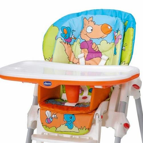 Fodera Seggiolone Chicco Polly 2 in 1 Wood Friends