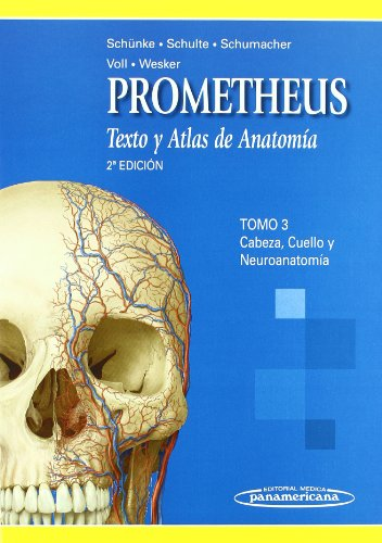 3: Texto y atlas de anatomia 2 / Text and Atlas of Anatomy: Cabeza, Cuello Y Neuroanatomia / Head, Neck, and Neuroanatomy por Michael Schunke