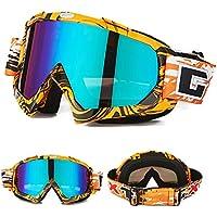 dea8d1fe99 Gafas de esquí motocicleta gafas gafas protectoras, invierno nieve Deportes Snowboard  Gafas, Gafas de