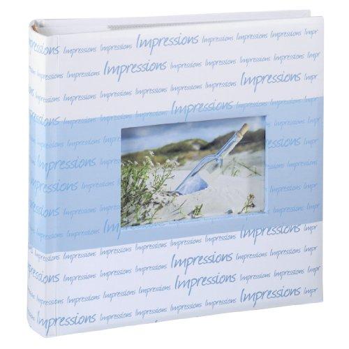 Hama, Album portafoto, per 200 foto formato 10x15 cm, Blu (Blau)