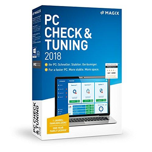 MAGIX PC Check & Tuning - Version 2018 - Macht Ihren PC: Schneller. Stabiler. Geräumiger.