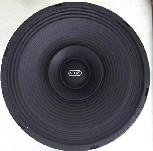 Crispy Deals ATOZ 10-inch Loud Speaker Musical 4 Ohm 100Watts (Ramp Audio Cone)