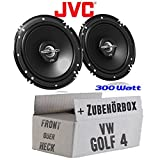 VW Golf 4 - Lautsprecher - JVC CS-J620 - 16cm Koaxe