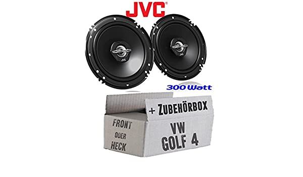 JUST SOUND best choice for caraudio JVC CS-J620-16cm Koaxe f/ür Audi A3 8P Lautsprecher